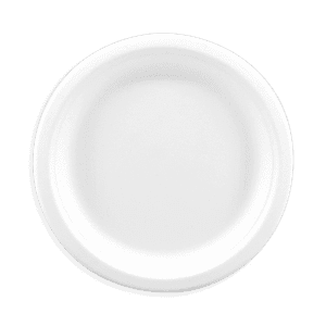 Assiette plate en pulpe de cellulose 18cm