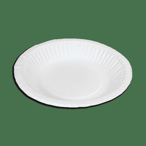 Assiette en carton 19 cm