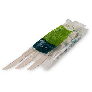 Couteaux jetables zeapack sans plastique par 20