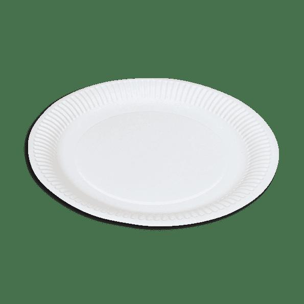 Assiette en carton 23cm