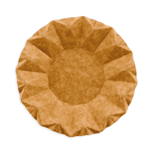 Assiettes creuses en carton Kraft 16 cm sans plastique