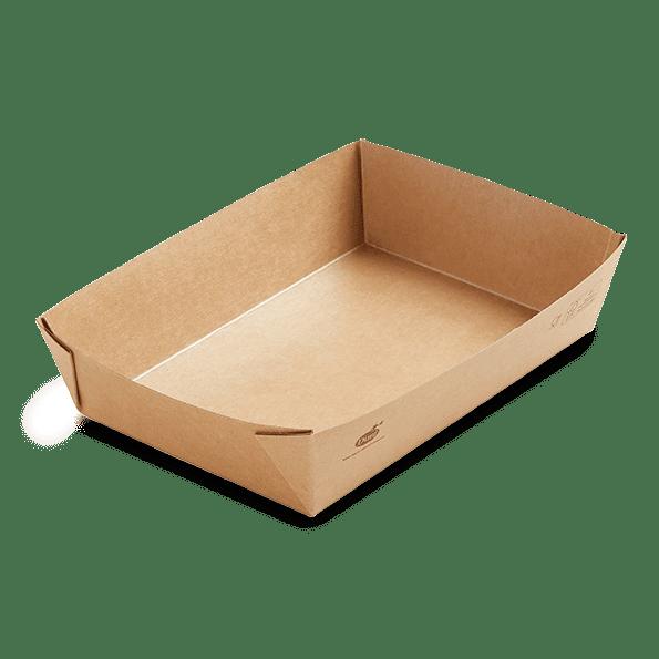 Boîte biodégradable alimentaire à emporter 1100 ml sans plastique