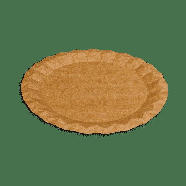 Assiette en carton Kraft 23cm