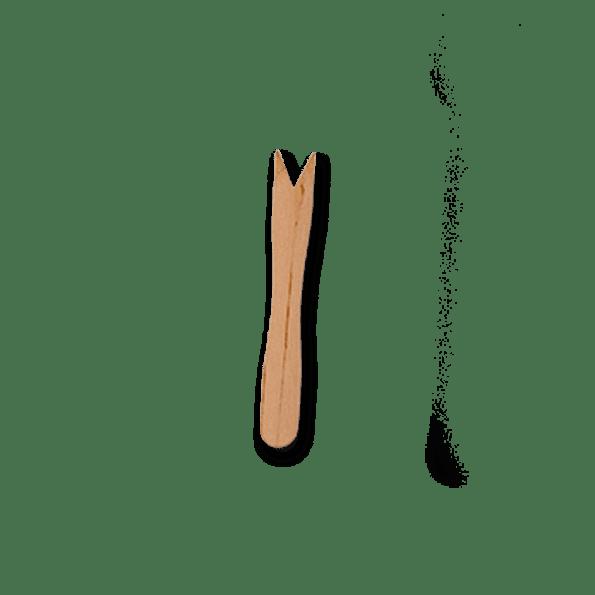 Petite fourchette en bois 8,5 cm