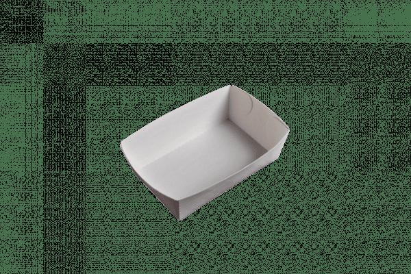Grande barquette à frites écologique sans plastique