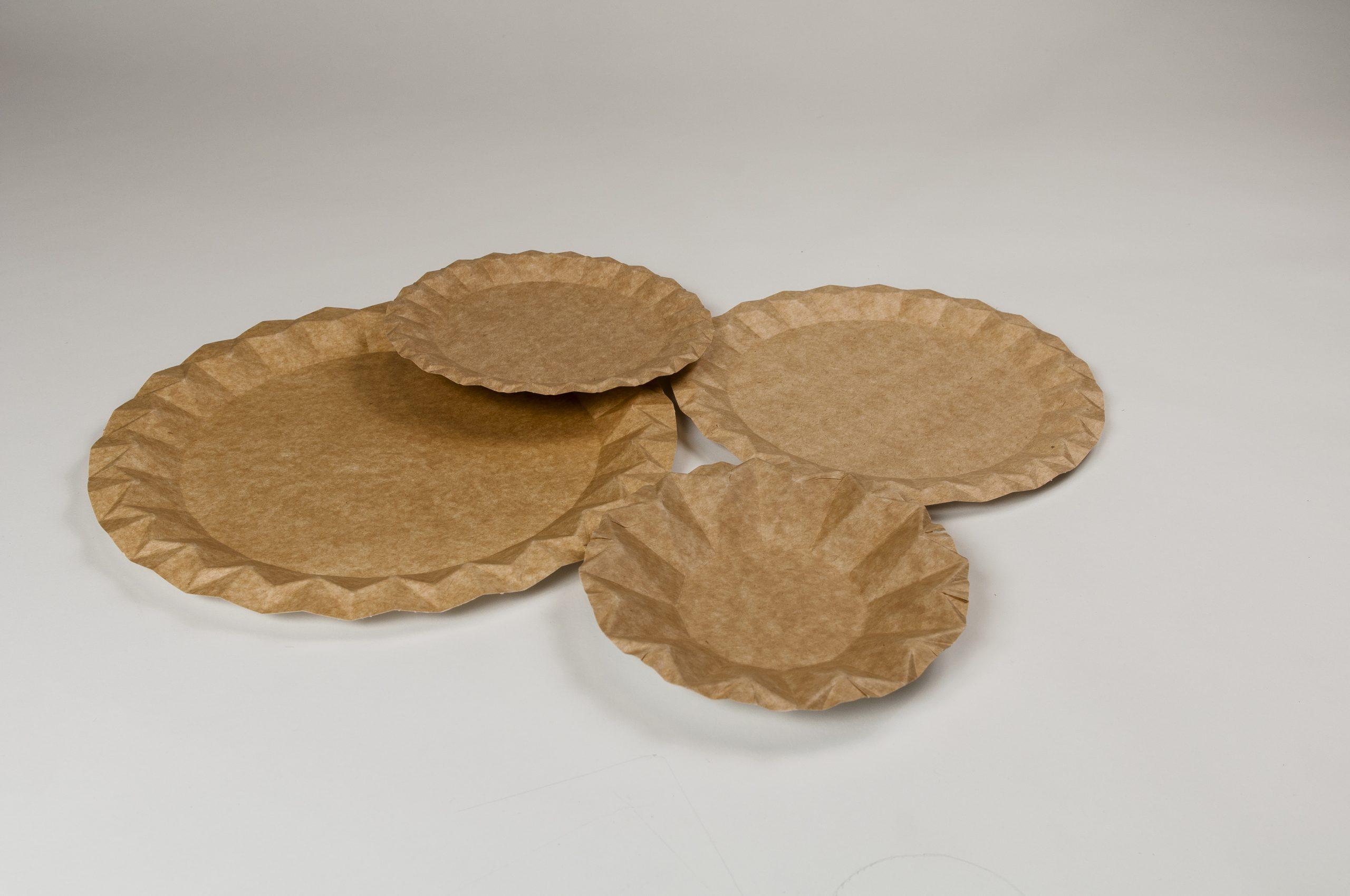 assiettes kraft zeapack sans plastique