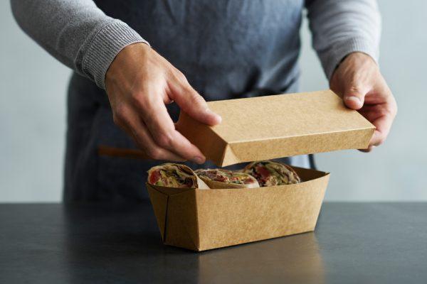 boîte jetable alimentaire écologique zeapack